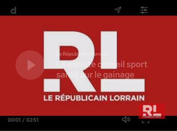 Républicain LORRAIN – Minute Conseil Sport Santé
