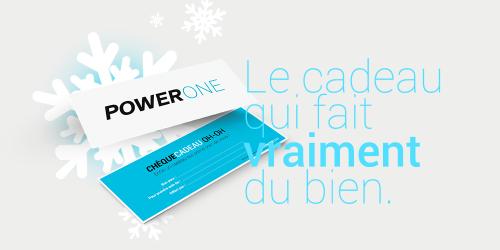 Offrez un cadeau personnalisé Power One